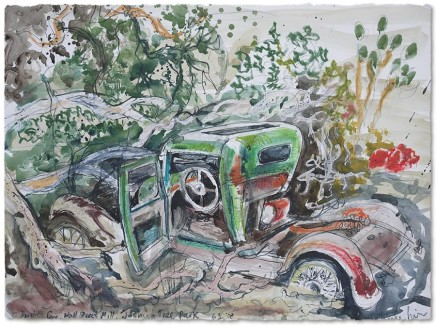 Luke Piper, DERELICT CAR, WALL STREET, JOSHUA TREE NATIONAL PARK, CALIFORNIA