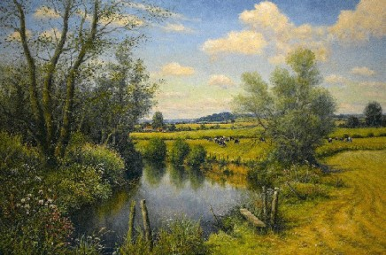 Mervyn Goode - AUGUST RIVER REFLECTIONS