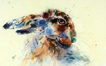 """Jake Winkle Born 1964COY Signed: J Winkle Watercolour 19"""" x 28"""""""