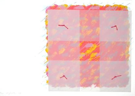 Richard Smith, Florentine 1 (red/orange), 1973