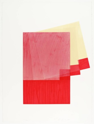 Richard Smith, Drawing Boards I : red/yellow, 1980