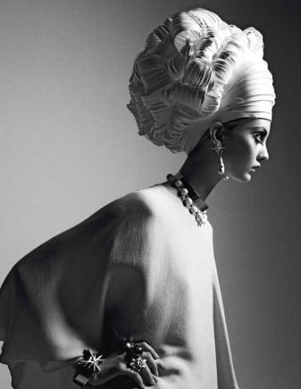Paper Do, Italian Vogue, 2011 Greg Lotus Fiber-base cotton paper with matte finish 57 3/4 x 42 inches 146.7 x 106.7 cm Edition 1/40