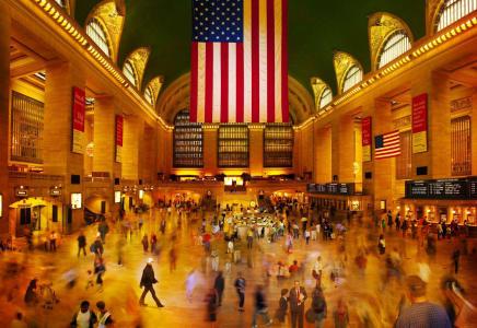 Lagerfeld at Grand Central Simon Procter C-print 47.24 x 68.5 inches (120 x 174 cm) Edition 7/10 plus 2 AP