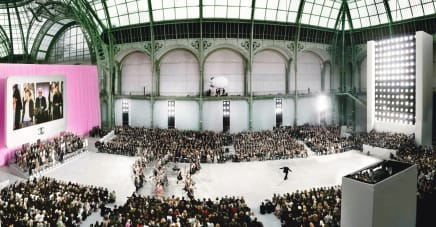Chanel, Karl at the Grand Palais, 2006 Simon Procter C-print 39 3/8 x 74 3/4 inches 100 x 190 cm Edition of 10, plus 2AP