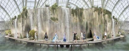 Chanel Arcadia, Spring Summer 2018, Le Grand Palais, Paris, 2017 Simon Procter C-print 39 3/8 x 97 1/2 inches 100 x 247.5 cm Edition of 10, 2AP