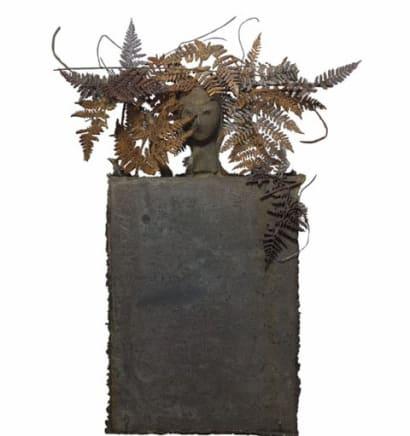 Helechos Manolo Valdés Bronze 22.05 x 16.93 x 6.3 inches (56 x 43 x 16 cm)