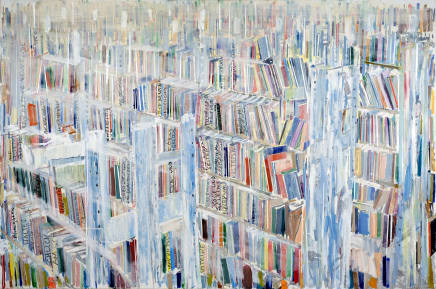 Uberblick (Overview), 2014 - 2016 Thomas Hartmann Oil on canvas 39 3/8 x 59 1/8 inches 100 x 150 cm