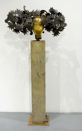 Fiori Manolo Valdés Gold brass and bronze 66.54 x 34.25 x 13.78 inches (169 x 87 x 35 cm)