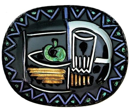 AR 219 - Nature morte, 1953 Pablo Picasso Ceramic 15 1/4 inches (38.7 cm) Edition of 400