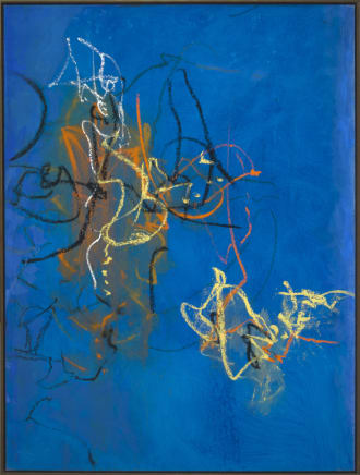 Letting Go #14, 2003  Cleve Gray  Mixed media on canvas  60 x 45 inches (152.4 x 114.3 cm)