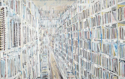 Ohne Titel (Bibliothek) / Without Title (Library), 2014 -2015