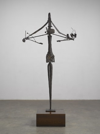 L'Impensable, 1959 Roberto Matta Bronze 70 1/8 x 41 1/4 x 34 5/8 inches 178 x 104.9 x 87.9 cm AP from an Edition of 6