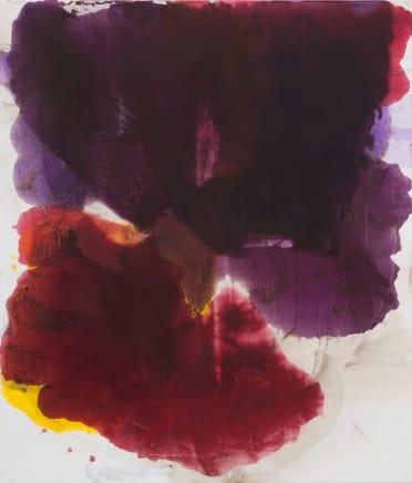 Assembly, 2014  Dirk De Bruycker  Asphalt, cobalt drier, gesso and oil on cotton duck canvas  84 x 72 inches (213.4 x 182.9 cm)
