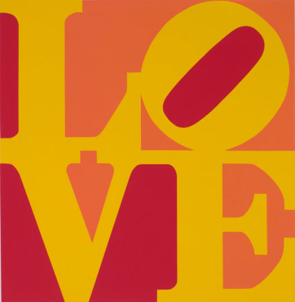 Book of Love (From a Portfolio of 12 silkscreen prints and 12 Poems), 1996 Robert Indiana Silkscreen 24 x 20 inches (61 x 50.8 cm) Edition 190/200