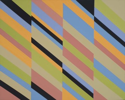 Jump Start, 2016 James Little Raw pigment on canvas 33 1/4 x 41 1/2 inches 84.5 x 105.4 cm