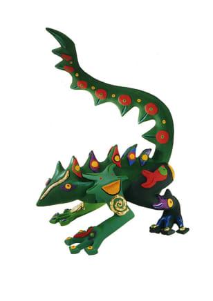 Small Iguana, 1997 Federica Matta Acrylic on polyester resin 16 1/2 x 18 1/8 x 26 3/4 inches 42 x 46 x 68 cm