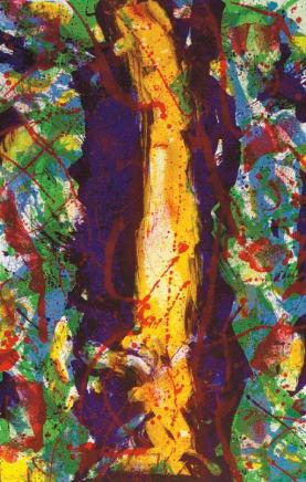 Untitled, 1990  Sam Francis  Lithograph  46 1/4 x 29 7/8 inches (117.5 x 75.9 cm)  Edition 12/50, 7 AP