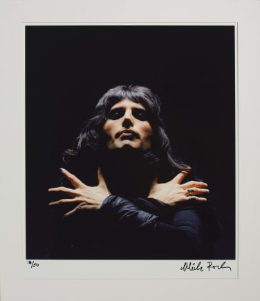 Freddie Mercury (Queen II Album Session), London, 1974 Mick Rock Epson Premium Lustre archival quality fine art print 24 x 20 inches 61 x 50.8 cm Edition 18/50