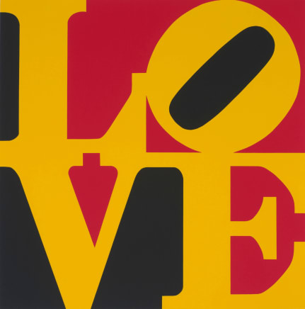 Book of Love (From a Portfolio of 12 silkscreen prints and 12 Poems), 1996 Robert Indiana Silkscreen Paper size: 24 x 20 inches (61 x 50.8 cm) Edition 58/200