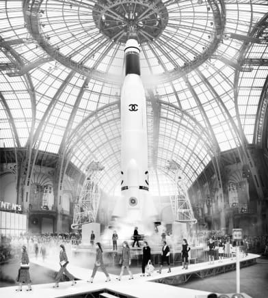 CHANEL, Super Rocket, Fall/Winter, 2017 Paris Simon Procter C-print 52 3/4 x 47 1/4 inches 134 x 120 cm Edition of 10