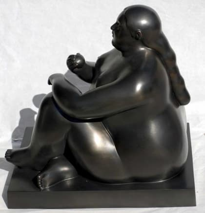 <span class=%22title%22>Donna Seduta con Mela (Woman Sitting with Apple)<span class=%22title_comma%22>, </span></span><span class=%22year%22>2011</span>