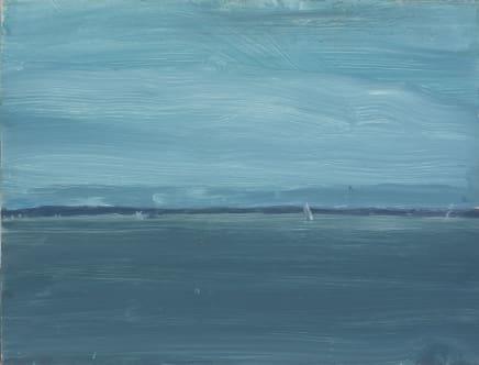 Marine 2, 2006 Alex Katz Oil on board 9 x 12 inches (22.9 x 30.5 cm)