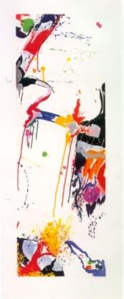 Untitled 059, 1988 Sam Francis Etching 56 x 22 1/4 inches (142.2 x 56.5 cm) Edition 7/22
