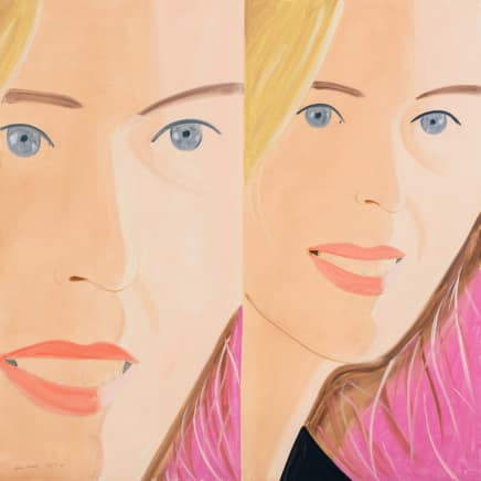 Sasha 2, 2016 Alex Katz Archival pigment inks on Crane Museo Max 365 gsm paper 34 x 34 inches 86.4 x 86.4 cm Edition 4/100