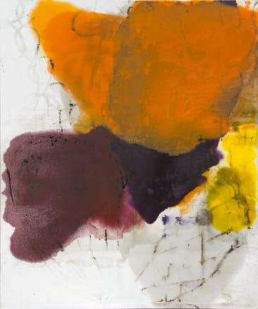 Rupture, 2011  Dirk De Bruycker  Asphalt, cobalt drier, gesso and oil on cotton duck canvas  72 x 60 inches (182.9 x 152.4 cm)