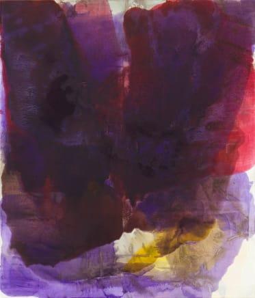 Empress, 2014  Dirk De Bruycker  Asphalt, cobalt drier, gesso and oil on cotton duck canvas  84 x 72 inches (213.4 x 182.9 cm)