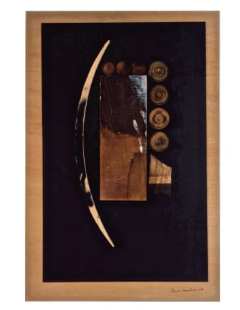 Untitled, 1976 Louise Nevelson Wood and paper collage 36 x 24 inches (91.4 x 61 cm)