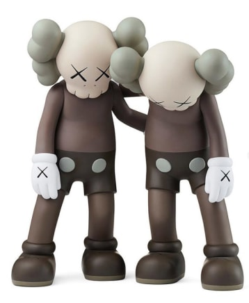 Along the Way (Brown - Set), 2019 KAWS Vinyl 10 1/2 x 9 x 5 inches / each 26.7 x 22.9 x 12.7 cm Open Edition