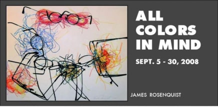 All Colors in MInd James Rosenquist graphic