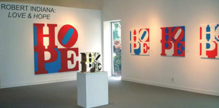 Robert Indiana exhibition