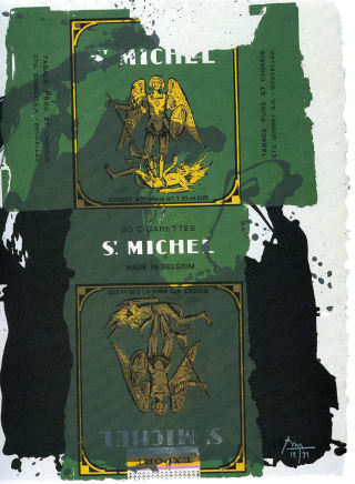 "Robert Motherwell ""St. Michael"""