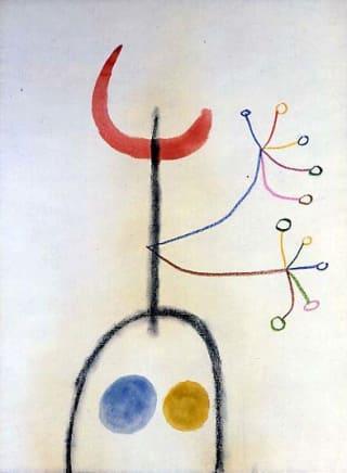 "Joan Miro ""Untitled"""