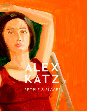 "Cover of ""Alex Katz: People and Places"" exhibition catalogue"