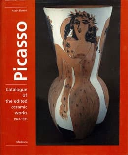 "Cover of ""Picasso Catalogue of the edited ceramic works 1947-1971"" book"