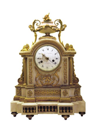 Mantle Clock, Late 18th century