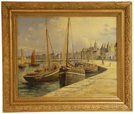 Emile Gauffriaud, Breton Port