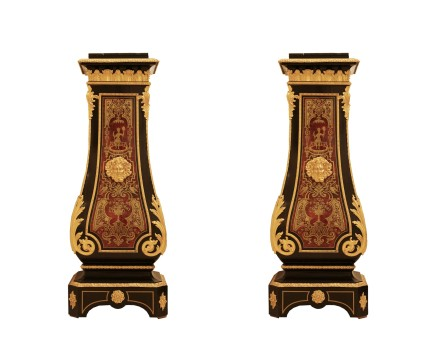 Pair of pedestals