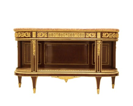 Henry Dasson, Console dessert table Louis XVI style, 1880
