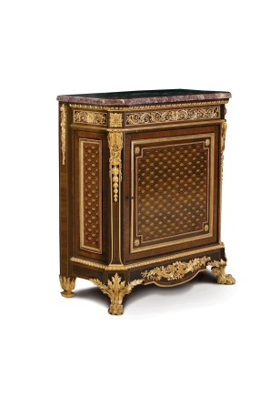 Grohé Frères, Louis XVI style Commode à Vantaux, Middle of 19th century