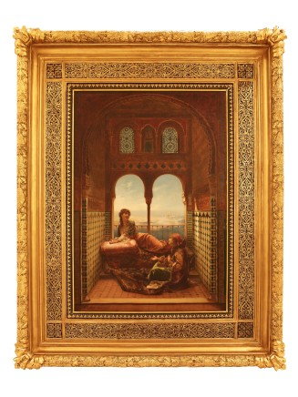 Edouard Frederic Wilhelm Richter, In The Harem, 1883