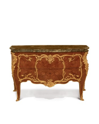 François Linke, Louis XV Style Commode, end of 19th century/beginning of 20th century