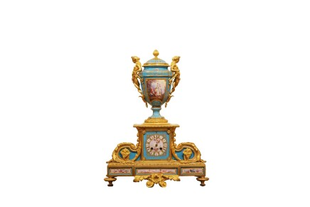 Mantel clock, Late 19th century