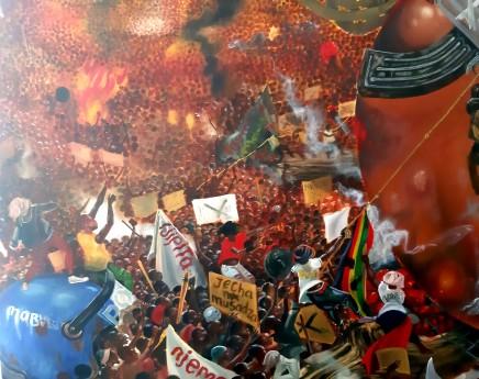 Kufa Makwavarara, Mass Demonstrations , 2020