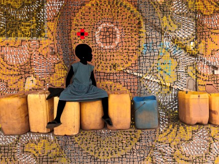 Saïdou Dicko, YELLOW CANS, 2019