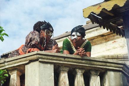 Godfried Donkor, Jamestown Masquerade X, 2006