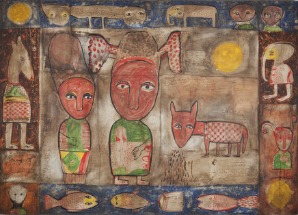 Toyin Loye, HOUSE OF CHIEFS I, 2009